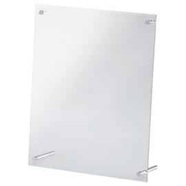 Tischaufsteller Superior Image für Präsentation A4 glasklar Acryl Magnetoplan 43143 Produktbild