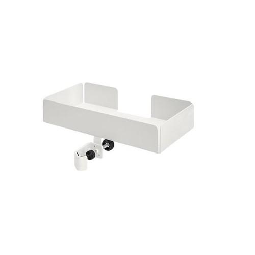 Ständer für Desinfektionsmittelhalter mit Sockel 100cm, Ø 25cm weiß Wedo 105 30000 Produktbild Additional View 2 L