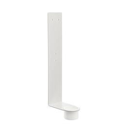 Ständer für Desinfektionsmittelhalter mit extra stabilem Sockel 80cm, Ø 25cm weiß Wedo 105 30001 Produktbild