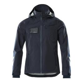Hard Shell Jacke, wasserdicht / Gr. XL,  Schwarzblau Produktbild