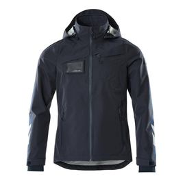 Hard Shell Jacke, wasserdicht / Gr. L,  Schwarzblau Produktbild