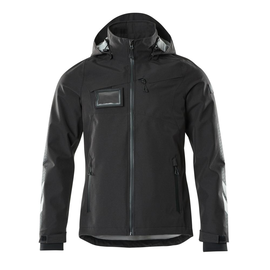 Hard Shell Jacke, wasserdicht / Gr. XS,  Schwarz Produktbild