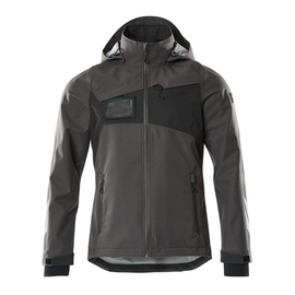 Hard Shell Jacke, wasserdicht / Gr. L,  Dunkelanthrazit/Schwarz Produktbild