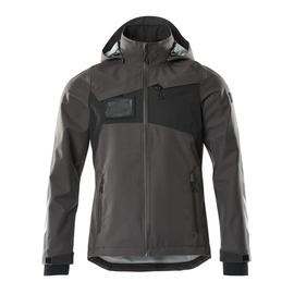 Hard Shell Jacke, wasserdicht / Gr.  2XL, Dunkelanthrazit/Schwarz Produktbild