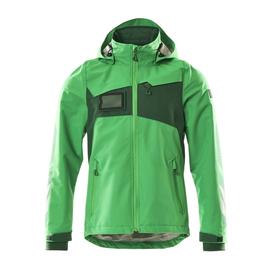 Hard Shell Jacke, wasserdicht / Gr. XL,  Grasgrün/Grün Produktbild