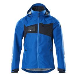 Hard Shell Jacke, wasserdicht / Gr. XS,  Azurblau/Schwarzblau Produktbild