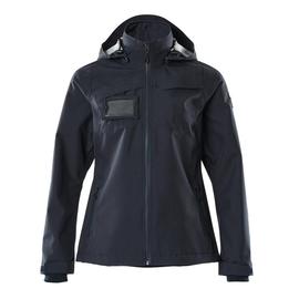 Hard Shell Jacke, wasserdicht, Damen /  Gr. XL, Schwarzblau Produktbild