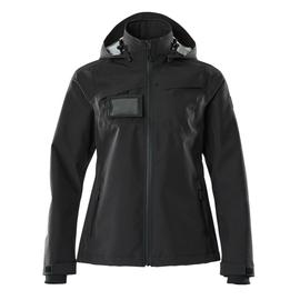 Hard Shell Jacke, wasserdicht, Damen /  Gr. 2XL, Schwarz Produktbild