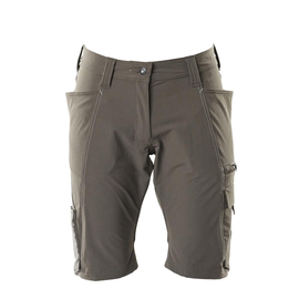 Shorts, Damenpassform, Pearl, Stretch /  Gr. C46, Dunkelanthrazit Produktbild