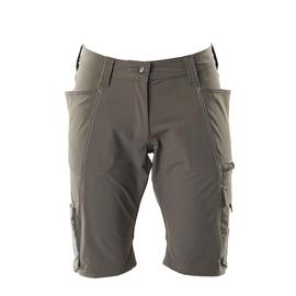 Shorts, Damenpassform, Pearl, Stretch /  Gr. C44, Dunkelanthrazit Produktbild