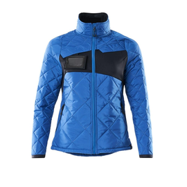 Jacke, CLIMASCOT, Damen,  wasserabweisend Thermojacke / Gr. XL,  Azurblau/Schwarzblau Produktbild