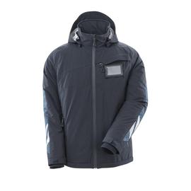 Winterjacke mit CLI, leicht / Gr. L,  Schwarzblau Produktbild