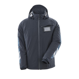 Winterjacke mit CLI, leicht / Gr. 4XL,  Schwarzblau Produktbild