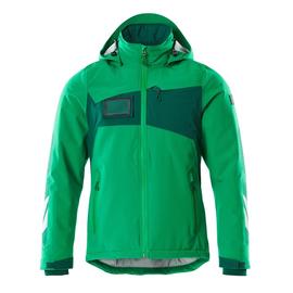 Winterjacke mit CLI, leicht / Gr. L,  Grasgrün/Grün Produktbild