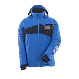 Winterjacke mit CLI, leicht / Gr. 4XL,  Azurblau/Schwarzblau Produktbild