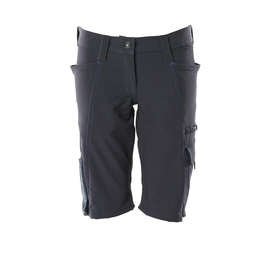 Shorts, Damenpassform, Pearl, Stretch /  Gr. C42, Schwarzblau Produktbild