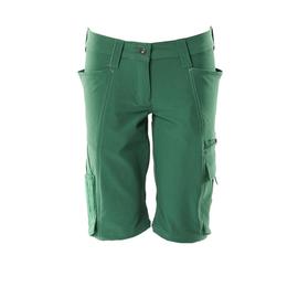 Shorts, Damenpassform, Pearl, Stretch /  Gr. C36, Grün Produktbild