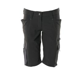 Shorts, Damenpassform, Pearl, Stretch /  Gr. C50, Schwarz Produktbild