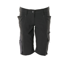 Shorts, Damenpassform, Pearl, Stretch /  Gr. C46, Schwarz Produktbild