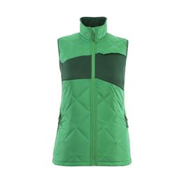 Winterweste m. CLI, Damen, leicht  Thermoweste / Gr. XS, Grasgrün/Grün Produktbild
