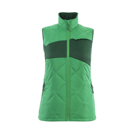 Winterweste m. CLI, Damen, leicht  Thermoweste / Gr. S, Grasgrün/Grün Produktbild