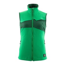 Weste, Damen, Stretch, leicht / Gr.  5XL, Grasgrün/Grün Produktbild