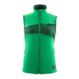 Weste, Damen, Stretch, leicht / Gr. M,  Grasgrün/Grün Produktbild