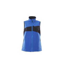 Weste, Damen, Stretch, leicht / Gr. M,  Azurblau/Schwarzblau Produktbild