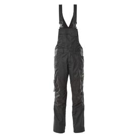 Latzhose, Knietaschen, Stretch-Einsätze  / Gr. 90C46, Schwarz Produktbild