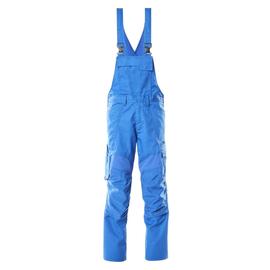 Latzhose, Knietaschen, Stretch-Einsätze  / Gr. 90C46, Azurblau Produktbild