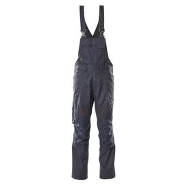 Latzhose, Knietaschen, Stretch-Einsätze  / Gr. 90C60, Schwarzblau Produktbild
