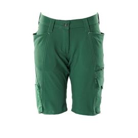 Shorts, Damenpassform, Diamond, Stretch  / Gr. C50, Grün Produktbild