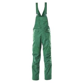 Latzhose, Knietaschen, Stretch-Einsätze  / Gr. 90C54, Grün Produktbild
