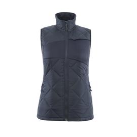 Winterweste m. CLI, Damen, leicht  Thermoweste / Gr. S, Schwarzblau Produktbild