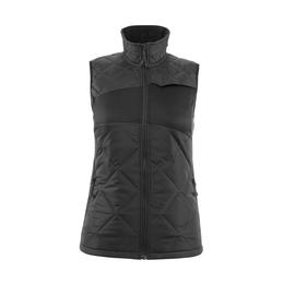 Winterweste m. CLI, Damen, leicht  Thermoweste / Gr. XL, Schwarz Produktbild