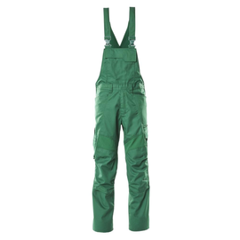 Latzhose, Knietaschen, Stretch-Einsätze  / Gr. 82C56, Grün Produktbild