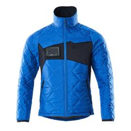 Jacke mit CLI, wasserabweisend  Thermojacke / Gr. 4XL,  Azurblau/Schwarzblau Produktbild