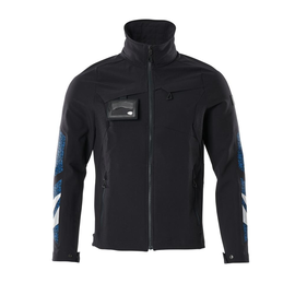 Jacke, Vier-Wege-Stretchstoff, leicht  Arbeitsjacke / Gr. S, Schwarzblau Produktbild