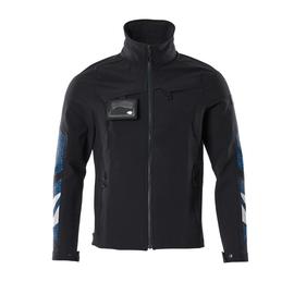 Jacke, Vier-Wege-Stretchstoff, leicht  Arbeitsjacke / Gr. M, Schwarzblau Produktbild