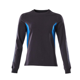 Sweatshirt, Damen / Gr. 2XLONE,  Schwarzblau/Azurblau Produktbild