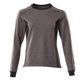 Sweatshirt, Damen / Gr. 5XLONE,  Dunkelanthrazit/Schwarz Produktbild
