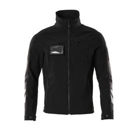 Jacke, Vier-Wege-Stretchstoff, leicht  Arbeitsjacke / Gr. 4XL, Schwarz Produktbild