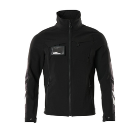 Jacke, Vier-Wege-Stretchstoff, leicht  Arbeitsjacke / Gr. 3XL, Schwarz Produktbild