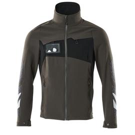 Jacke, Vier-Wege-Stretchstoff, leicht  Arbeitsjacke / Gr. 4XL,  Dunkelanthrazit/Schwarz Produktbild