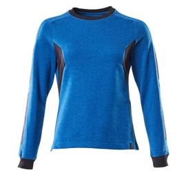 Sweatshirt, Damen / Gr. 4XLONE,  Azurblau/Schwarzblau Produktbild