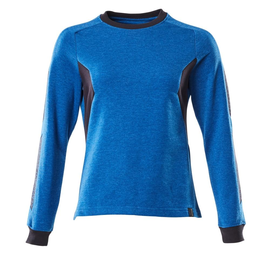 Sweatshirt, Damen / Gr. 2XLONE,  Azurblau/Schwarzblau Produktbild