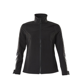 Jacke, Damen, Stretch, leicht  Arbeitsjacke / Gr. M, Schwarz Produktbild