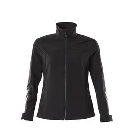 Jacke, Damen, Stretch, leicht  Arbeitsjacke / Gr. L, Schwarz Produktbild