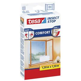 Fliegengitter Comfort für Fenster 1,3m x 1,3m weiß Tesa 55396-00020 Produktbild