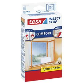 Fliegengitter für Fenster 1,3m x 1,5m weiß Tesa 55388-00020 Produktbild
